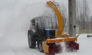 Механизировання уборка снега Самара