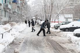Ручная уборка снега Самара