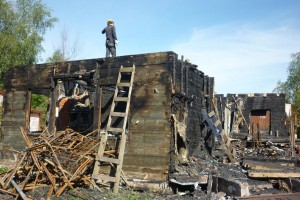 Снос деревянного дома Самара